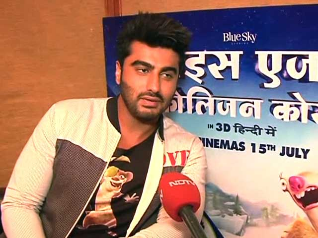 Arjun Kapoor Debuts as Buck in Ice Age 5