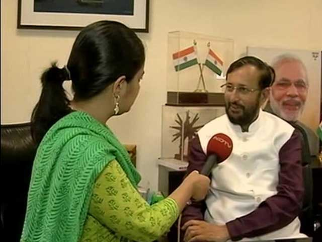 Video : 'We Are The Crazy Boys,' Says New Education Minister Prakash Javadekar