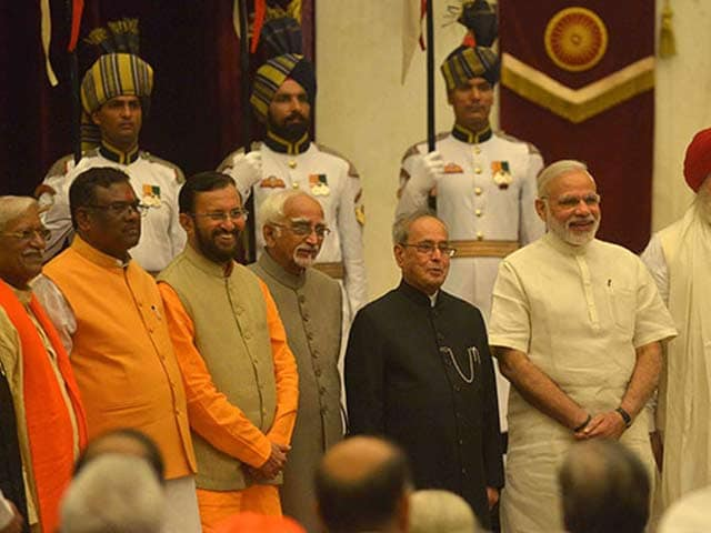 Video : In PM Modi's Cabinet Rejig, IT Splits From Communication