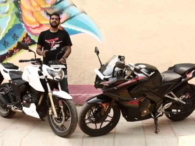 Video : Bajaj Pulsar RS200 vs TVS Apache RTR200