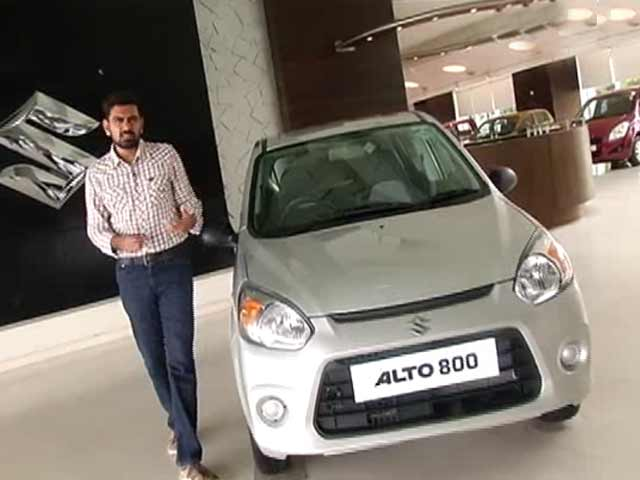 Video : CNB Bazzar Buzz: Maruti Suzuki Alto800, HMSI's Plant, 200cc Bikes Battle