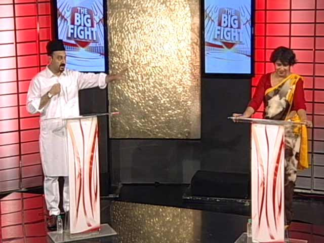 Video : On NDTV Show, Tariq Bukhari Refuses To Share Stage With Taslima Nasreen