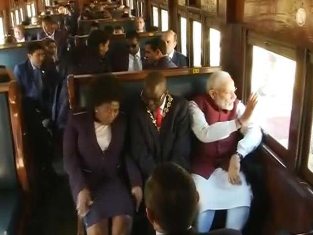 Video : In Durban, PM Modi Retraces Mahatma Gandhi's Train Journey