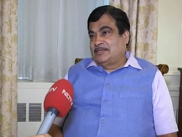 Video : My Mission Is To Reduce 50% Accidents And Save 50% Lives: Nitin Gadkari