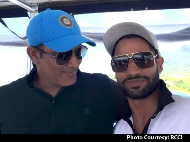 Video : Shikhar Dhawan Turns Reporter On India's Fun Day in Caribbean