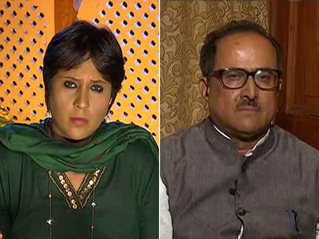 Video : 'Routine Terror Encounter': BJP-PDP Divide Over Burhan Wani Operation?