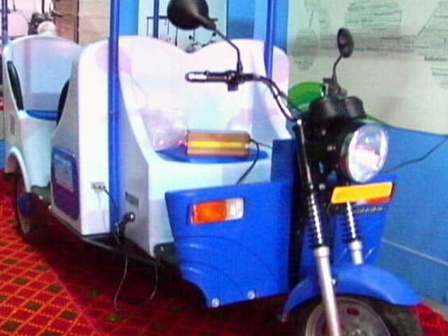 Video : ई रिक्शा बाजार में आया नया प्रोडक्ट
