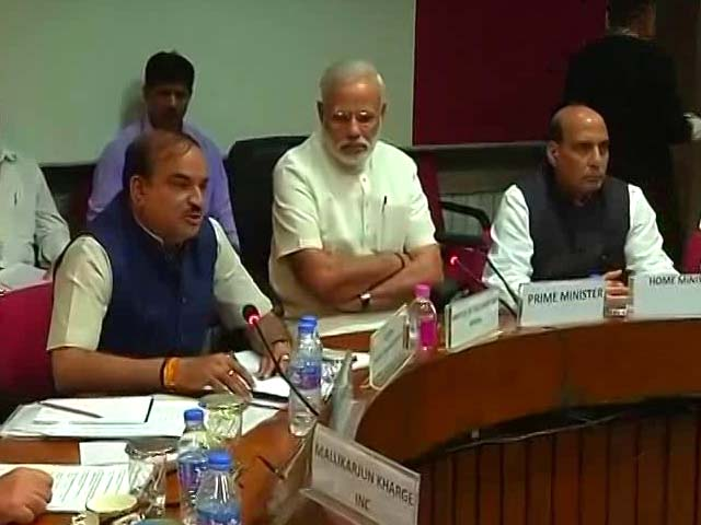 Video : It's Not About Who Gets Credit For GST, PM Modi Says At All-Party Meet