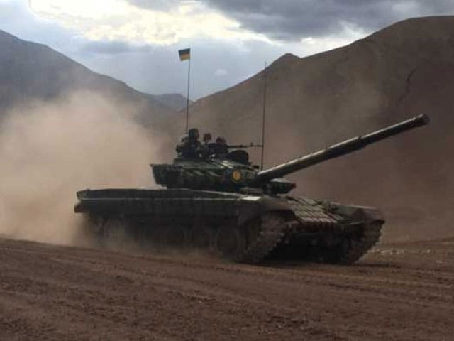 Video : 100 Indian Tanks Now Near China Border In Eastern Ladakh, More To Come
