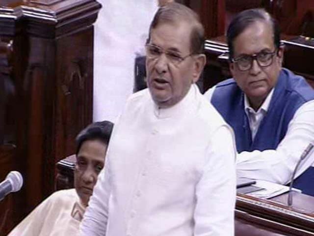 Video : Government Using Cow Activism As Political Tool, Says JD(U)'s Sharad Yadav