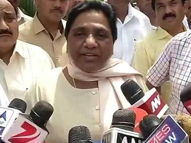 Video : 'I Am Like A Goddess To Them,' Says Mayawati On Massive Lucknow Protest