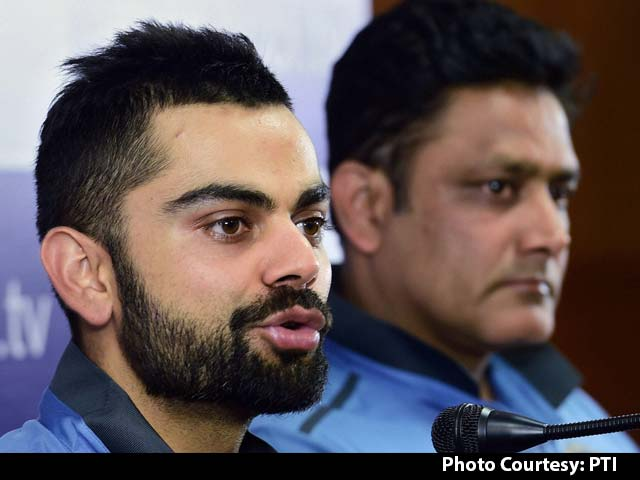 Virat Kohli-Anil Kumble Combo Will Be Big For India: Sunil Gavaskar