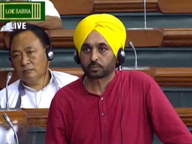 Video : AAP's Bhagwant Mann Apologises As Parliament Condemns Facebook Video