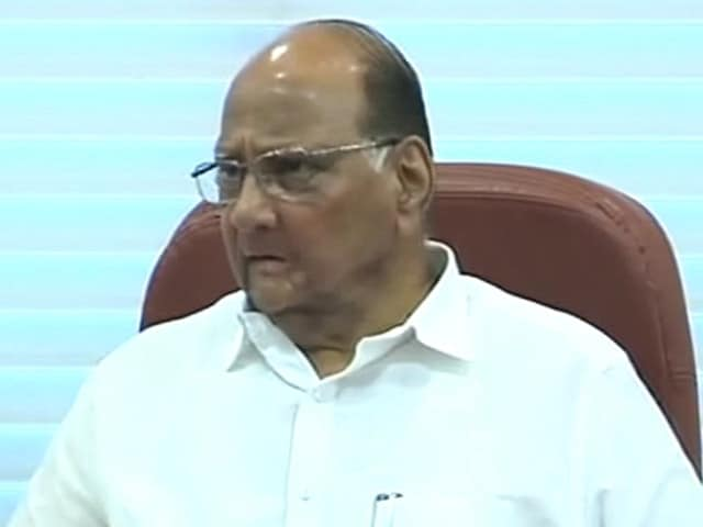Sharad Pawar to Step Down as Mumbai Cricket Association Chief