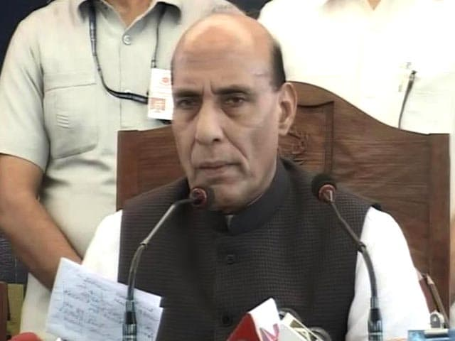 Video : Not Need-Based, Want Emotional Relationship With Kashmir: Rajnath Singh
