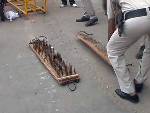 कांवड़ियों पर आतंकी हमला रोकने के लिए पुलिस ने तैयार किये खास टायर किलर