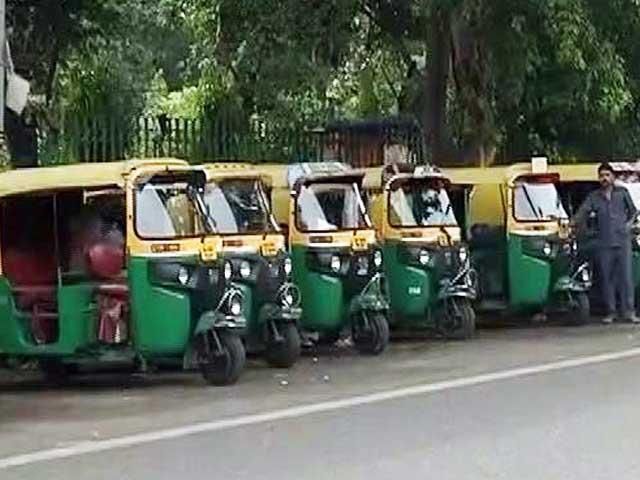 Videos : दिल्ली में ऑटो-टैक्सी चालकों की हड़ताल