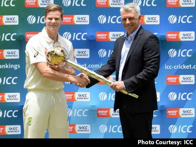 Australian Skipper Steve Smith Gets ICC Test Championship Mace