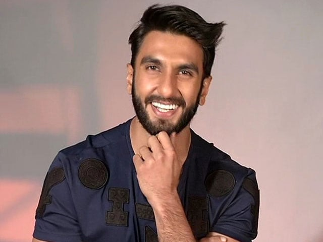 We Asked Ranveer Singh About 'Amour.' He Got All Shy