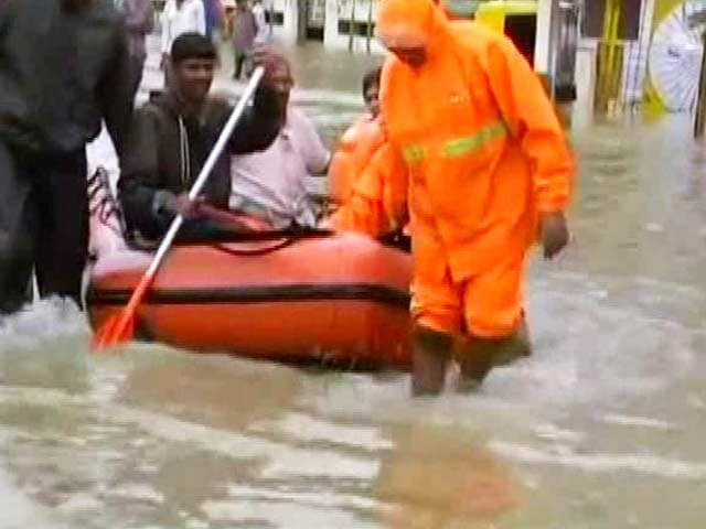 Video : In IT City Bengaluru, Boats On Roads, People Seen Fishing After Heavy Rain