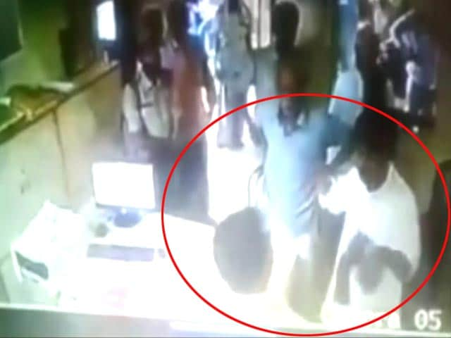 Bihar Lawmaker Slaps Bank Official, Caught On Camera
