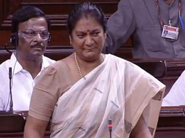 Video : 'Was Slapped, Need Protection,' Wept Tamil Nadu MP Sacked By Jayalalithaa