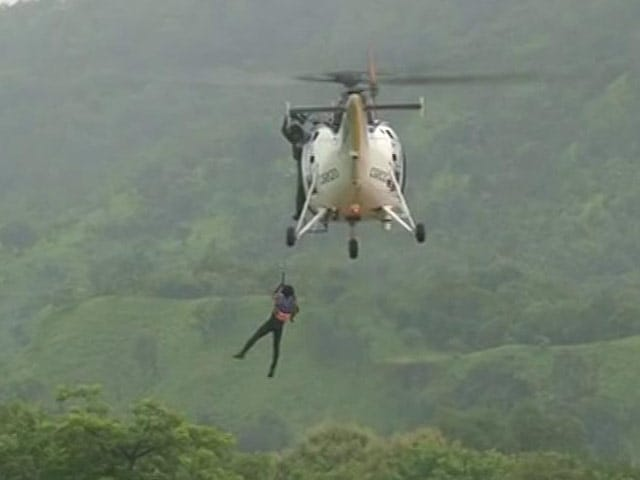 Video : After Bridge Crash On Mumbai-Goa Highway, Chopper, Divers In Rescue Ops