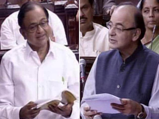 Video : On GST, Congress, BJP Spar In Rajya Sabha Over Rules
