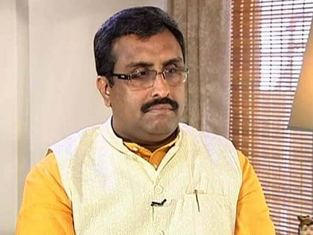 Video : New Kashmir Outreach? Ram Madhav, Ministers Brainstorm With Civil Society