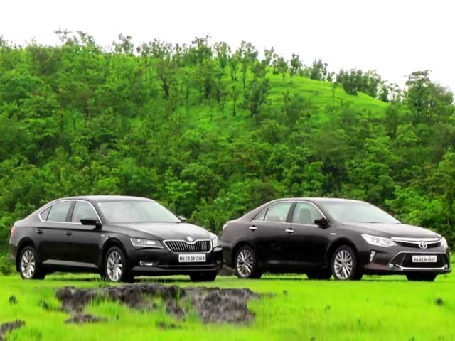 In Comparison: Toyota Camry Vs Skoda Superb