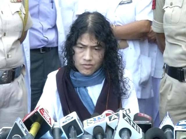 Video : Irom Sharmila Back In Hospital After Breaking 16-Year Hunger Strike