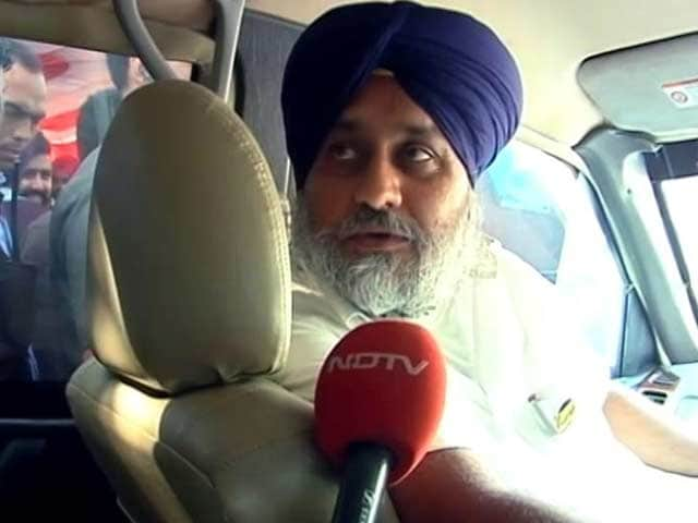 Video : AAP Will Be Wiped Out, Punjab Battle Between The Big Two, Says Badal Jr