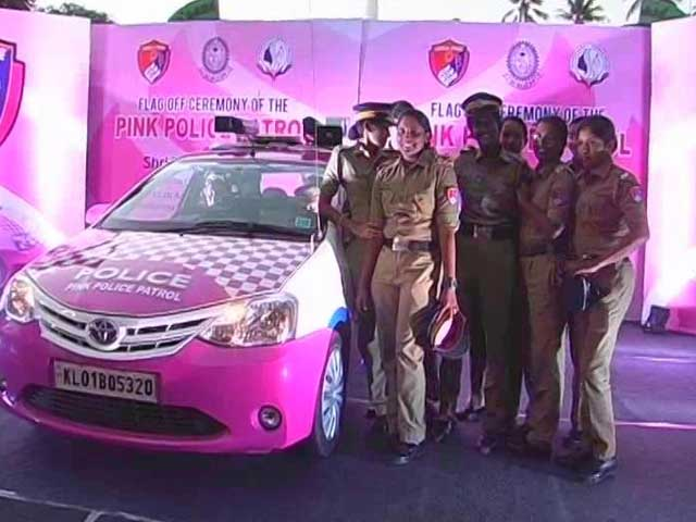 Video : First Pink Cabs, Now Pink Police. Kerala Starts Special Force For Women