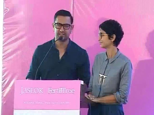 Video : What Kept Aamir Khan Busy on Independence Day