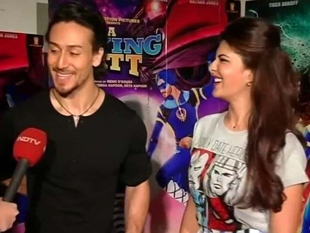 Video : Happy To Be In <i>Student Of The Year 2</i>: Tiger Shroff