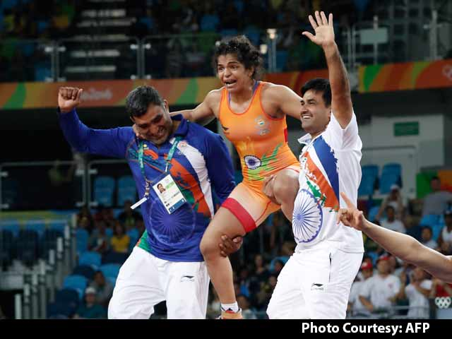 Video : Sakshi Malik Has Become The Mallika of India, Say Fans in Rio