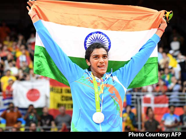 India Shining With PV Sindhu's Silver In Badminton At Rio Olympics