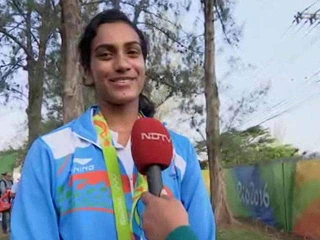 Video : Olympics Medal Is My Biggest Dream That Has Come True: PV Sindhu
