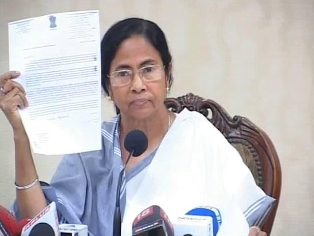 Video : Modi Government 'Dictatorship', Bulldozing Federal Structure: Mamata Banerjee