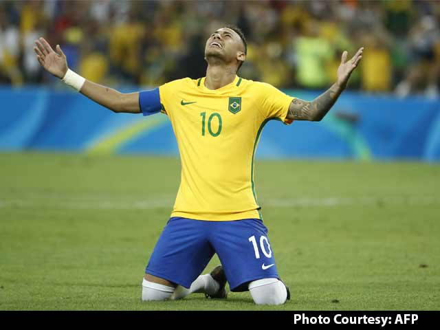 Video : Neymar Guides Brazil to Their Maiden Olympic Football Gold