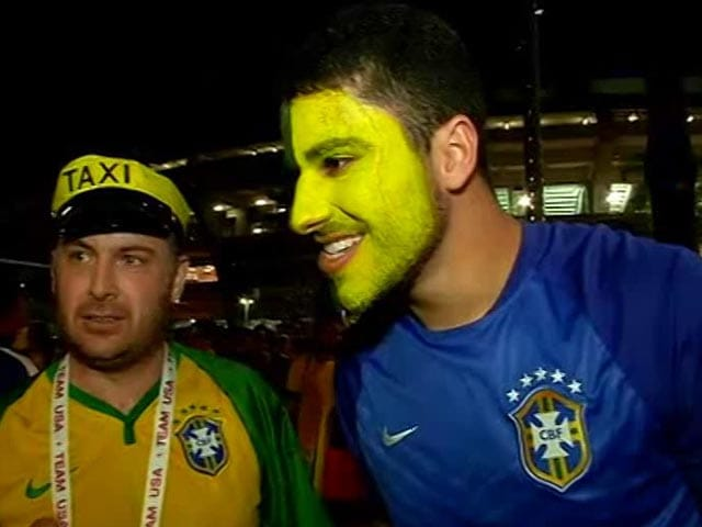 Video : Rio Olympics: Brazilians Celebrate Host Nation's Historic Gold