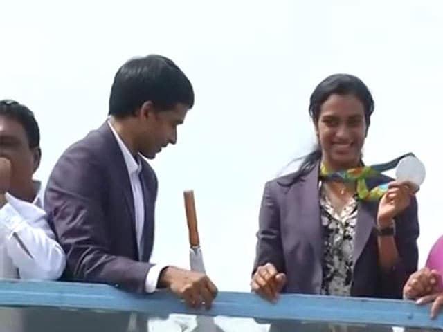 Video : Hyderabadi Biryani, Mysore Pak Wait For India's Olympic Hero PV Sindhu