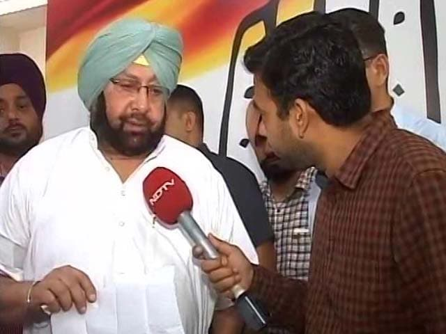 Video : Sidhu Has Congress In His DNA, Says Amarinder Singh In Another Invite