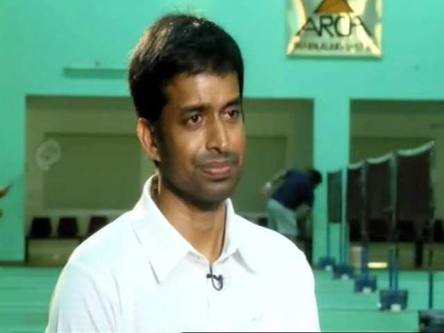 Gopichand Wants Better System for Growth of Badminton in India