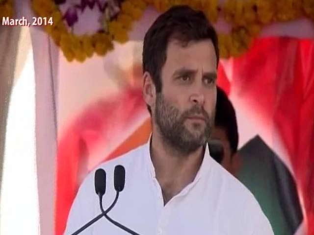 Video : Didn't Blame RSS For Gandhiji's Killing: Rahul Gandhi To Supreme Court
