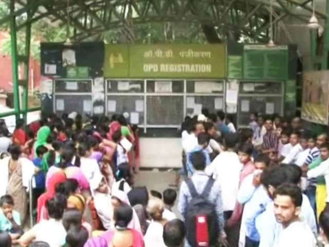 Video : Girl Dies Waiting In Queue At Gurgaon Hospital, Probe Ordered