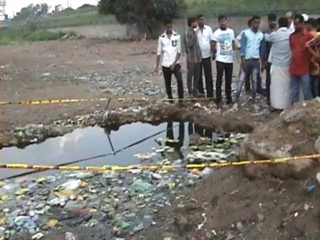 Video : Body Of 8-Year-Old Found Floating In Flooded Ditch In Delhi