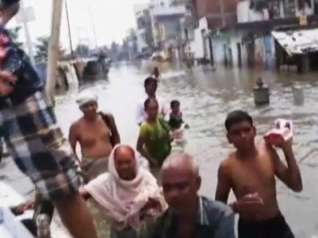 Video : As Ganga Floods, Janmashtami A Washout In Varanasi