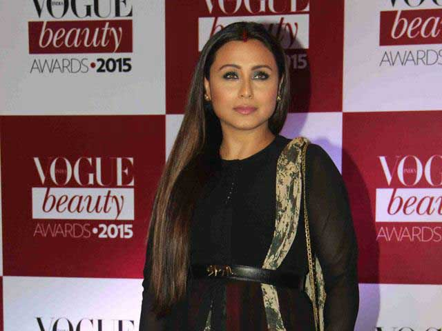 Rani Mukerji's Face-Off With Paparazzi