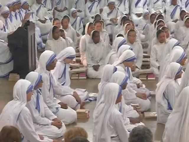 Video : Days Before Her Sainthood, Kolkata Celebrates Mother Teresa's Birthday